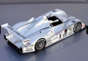【送料無料】模型車 モデルカー スポーツカーアウディルマンマウント124 audi r8 5 le mans 2002 sold mounted
