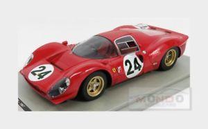 【送料無料】模型車 モデルカー スポーツカーフェラーリデイトナパークスferrari 330 p4 sefac daytona 1967 parkes scarfiotti tecnomodel 118 tm1831c mod