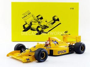 【送料無料】模型車 モデルカー スポーツカースパークロータスspark 118 lotus 101 gp angleterre 1989 18s231