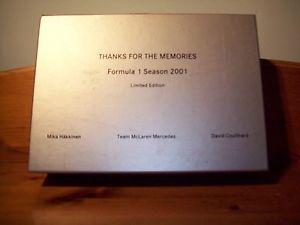 【送料無料】模型車 モデルカー スポーツカーマクラーレンメルセデスミカハッキネンデビッドクルサード143 mclaren mercedes mp416 2001 twinset mika hakkinendavid coulthard