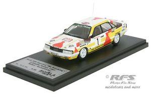 【送料無料】模型車 モデルカー スポーツカーアウディクアトロスカラaudi 200 quattro 3citiesrally 1987walter rhrl 143 scala 43