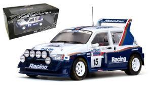 【送料無料】模型車 モデルカー スポーツカーサンスター#ラリージミーマクレースケールsun star 5531 mg metro 6r4 15 rac rally 1986 jimmy mcrae 118 scale