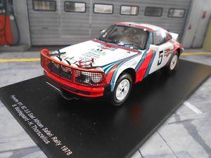 【送料無料】模型車 モデルカー スポーツカーポルシェサファリラリーマルティニレーシング#スパークporsche 911 sc 30 rally safari 1978 martini racing 5 waldegaard r spark 118