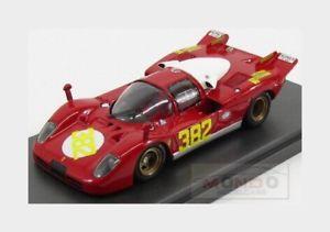 【送料無料】模型車 モデルカー スポーツカーフェラーリロッソferrari 512s berlinetta picchio rosso triesteopicina 1970 mg 143 mg512s52 mod