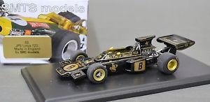 【送料無料】模型車 モデルカー スポーツカーモデルロータス143 src models no3 jps lotus 72d by smts