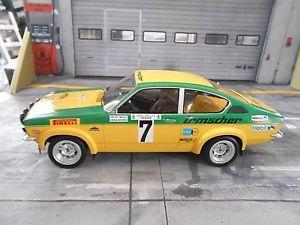 【送料無料】模型車 モデルカー スポーツカーオペルグアテマララリーヘッセンラリー#ボスopel kadett c gte rally hessen rally drm 1975 7 smolej irmscher bos 118