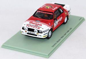 【送料無料】模型車 モデルカー スポーツカートヨタセリカターボ#toyota celica turbo 1985 1 nbz370 143 bizarre