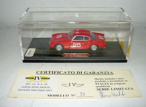 【送料無料】模型車 モデルカー スポーツカーモデルランチアアッピアiv model ivm029, lancia appia zagato, cammello mm´57,handarbeitsm 143, neuamp;ovp