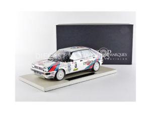 【送料無料】模型車 モデルカー スポーツカートップマルケスグッズランチアデルタモンテカルロtop marques collectibles 118 lancia delta 4wd winner monte carlo 1988t