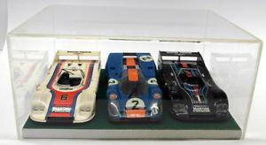 【送料無料】模型車 モデルカー スポーツカーノーブランドスケールプラスチックポルシェルマンケースセットunbranded 124 appx scale plastic porsche 917 3x le mans car set case