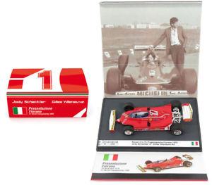 【送料無料】模型車 モデルカー スポーツカーフェラーリフィオラノスケールbrumm s1701 ferrari 312 t5 presentazione fiorano 1980 143 scale
