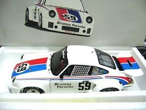 【送料無料】模型車 モデルカー スポーツカーポルシェカレラデイトナグレッグ#スパークporsche 911 rsr carrera brumos 24h daytona win gregg 1975 59 spark resin 118
