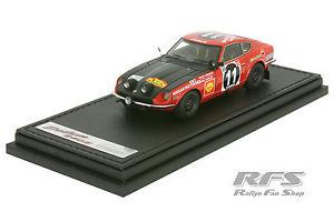 【送料無料】模型車 モデルカー スポーツカーダットサンサファリラリーヘルマンdatsun 240z safari rally 1971herrmanndisciple 143 ig 212
