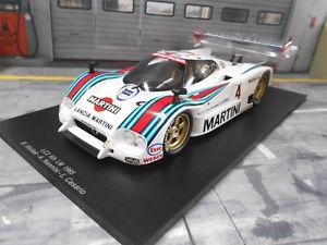 【送料無料】模型車 モデルカー スポーツカーランチアサイズルマン#ナニーニマルティニレーシングスパークlancia lc2 lc 2 size c le mans 1985 4 winner nannini c martini racing spark 11
