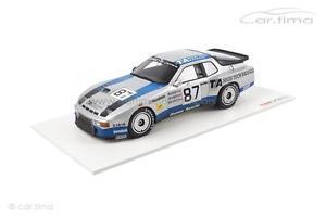 【送料無料】模型車 モデルカー スポーツカーモデルポルシェカレラスルマンporsche 924 carrera gtrclass winner 24h le mans 1982 1 of 500tsm model