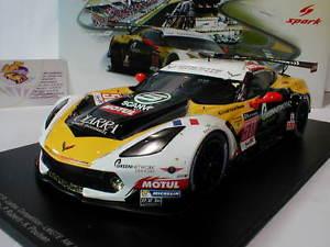 【送料無料】模型車 モデルカー スポーツカースパークシボレーコルベットルマンspark 18s202 chevrolet corvette c7r 50 24h lemans 2015 g roda 118