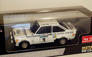 【送料無料】模型車 モデルカー スポーツカーフォードエスコートラリーバタネン118 ford escort rs1800 the sunday times lombard rac rally avatanen