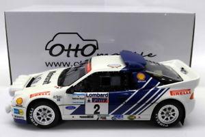 【送料無料】模型車 モデルカー スポーツカーオットースケールフォードロンバードラリーモデルカーotto 118 scale resin ot679 ford rs200 grpb lombard rac rally 1986 model car