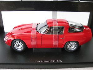 【送料無料】模型車 モデルカー スポーツカーアルファロメオautoart alfa romeo tz 1963