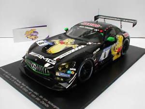 【送料無料】模型車 モデルカー スポーツカースパークシングルメルセデスグアテマラニュルブルクリンクレーシング#spark 18sg020 mercedes amg gt3 24h nrburgring 2017 034;haribo racing034; 118