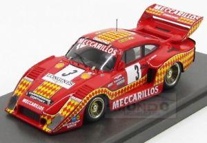 【送料無料】模型車 モデルカー スポーツカーポルシェターボ#キロディジョンモデルporsche 935 30l turbo 3 1000km dijon 1980 chaldi mg model 143 mgber143014