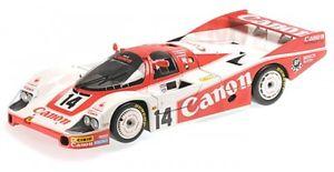 【送料無料】模型車 モデルカー スポーツカーポルシェキヤノンリチャードロイドレーシングルマンロイドパーマーラムporsche 956 canon richard lloyd racing 24h lemans 1983 lloyd palmer lam