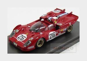 【送料無料】模型車 モデルカー スポーツカーフェラーリスパイダーチーム#セブリングモデルferrari 512s spider team honey 26 sebring 1971 parson mg model 143 mg512s22 m