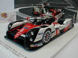 【送料無料】模型車 モデルカー スポーツカースパークトヨタハイブリッドサラザンルマンspark 18s265 toyota ts050 hybrid 6 2nd 24h lemans 2016 sarrazin 118