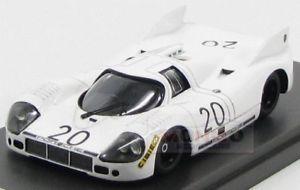 【送料無料】模型車 モデルカー スポーツカーポルシェ#ルマンホワイトモデルモデルporsche 91720 20 prove le mans april 1971 white mg model 143 mg43020a model