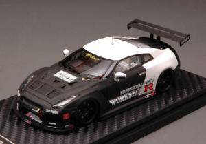 【送料無料】模型車 モデルカー スポーツカーrテストカーモデルレーシングnissan gtr r35 test car 2010 143 model hpi racing