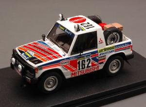 【送料無料】模型車 モデルカー スポーツカーパジェロパリダカモデルmitsubishi pajero 14th parisdakar 1983 debussydelaval 143 hpi hpi8878 model