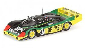 【送料無料】模型車 モデルカー スポーツカーポルシェルマンレナシュレッサーporsche 956l bp 47 24h du mans 1983 henballotlenaschlesser