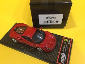 【送料無料】模型車 モデルカー スポーツカーモデルフェラーリメタリックレッドレースbbr models bbrc 1651 ferrari 488 gtb 2015 metallic red race