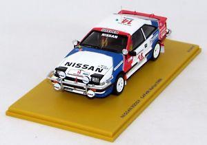 【送料無料】模型車 モデルカー スポーツカーサファリラリー#nissan 200sx 3nd safari rallye 1988 14 n bz371 143 bizarre