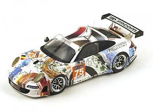 【送料無料】模型車 モデルカー スポーツカーポルシェグアテマラルマンporsche 911 gt3 rsr 997 competition pro speed n 75 le mans 2014 f perrodo
