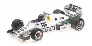 【送料無料】模型車 モデルカー スポーツカーウィリアムズフォードジャックラフィwilliams ford fw08c n2 formula 1 1983 jacques laffite