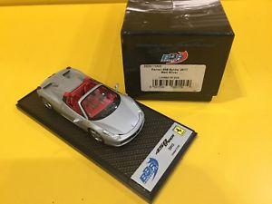 【送料無料】模型車 モデルカー スポーツカーモデルフェラーリスパイダーマットシルバーbbr models bbrc70ms ferrari 458 spyder 2011 matt silver