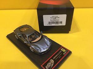 【送料無料】模型車 モデルカー スポーツカーモデルフェラーリメタリックフェロbbr models bbrc165b ferrari 488 gtb 2015 metallic grigio ferro