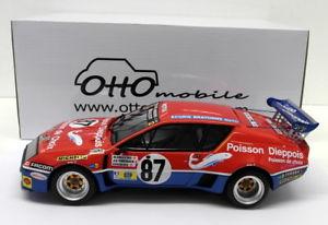 【送料無料】模型車 モデルカー スポーツカースケールアルパインルノールマン#eight 118 scale resinot164 alpine renault a310 le mans 1977 87