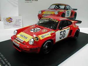 【送料無料】模型車 モデルカー スポーツカースパーク#ポルシェカレラ#レースspark 18s165 porsche 911 carrera rsr 58 24h lm 1975 gelo racing 118
