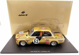 【送料無料】模型車 モデルカー スポーツカースパークスケールシングルチューニングモデルカーspark 118 scale resin 18sg004 bmw 2002 gs tuning warsteiner drm model car