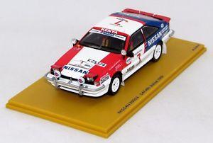 【送料無料】模型車 モデルカー スポーツカーサファリラリーnissan 200sx 2nd safari rallye 1988 n bz372 143 bizarre