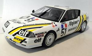 【送料無料】模型車 モデルカー スポーツカースケールアルパインヨーロッパカップ#ホワイトeight 118 scale resinot185 alpine gta europe cup 51 white