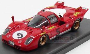 【送料無料】模型車 モデルカー スポーツカーフェラーリロッソキロモンツァモデルferrari 512s berlinetta picchio rosso 1000km monza 1970 mg model 143 mg512s49
