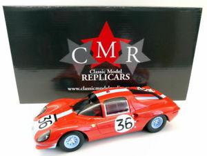 【送料無料】模型車 モデルカー スポーツカースケールフェラーリディノ#ルマンcmr 118 scale resin 039 ferrari dino 206s berlinetta 36 le mans 1966