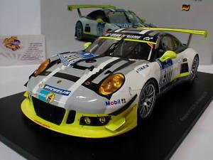 【送料無料】模型車 モデルカー スポーツカースパークシングルポルシェグアテマラニュルブルクリンクタンディspark 18sg016 porsche 911 gt3 r 911 24h nrburgring 2016 tandy 118