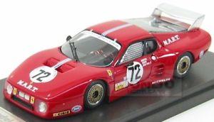 【送料無料】模型車 モデルカー スポーツカーフェラーリ#ルマンモートンモデルモードferrari 512bb lm 72 24h le mans 1982 cudini morton mg model 143 mgs122 mode