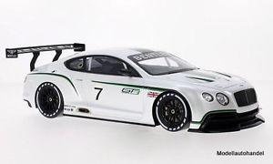 【送料無料】模型車 モデルカー スポーツカーベントレーコンチネンタルグアテマラコンセプトカー#パリモーターショーbentley continental gt3 concept car 7 2012 paris motor show 118 truescale