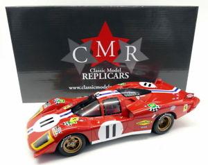 【送料無料】模型車 モデルカー スポーツカースケールフェラーリロングテール#ルマンcmr 118 scale resin 025 ferrari 512s long tail 11 nart 4th 24h le mans 1970