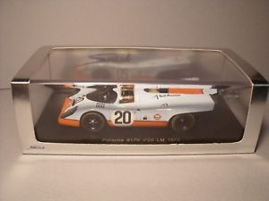 【送料無料】模型車 モデルカー スポーツカースパークポルシェルマンボックス#レアspark 143 porsche 917 k gulf le mans 1970 20 in box rare